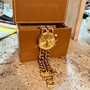 Michael Kors Double Chainlink Watch